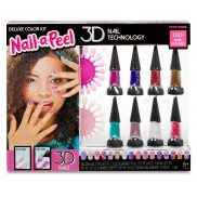 Nail-a-Peel - Zestaw lakierów do paznokci 3D Deluxe 549482