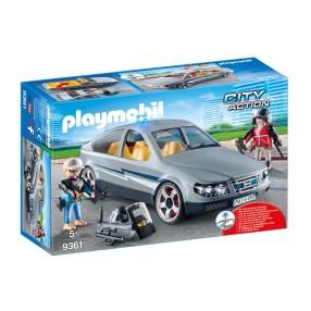 Playmobil - Nieoznakowany pojazd jednostki specjalnej 9361