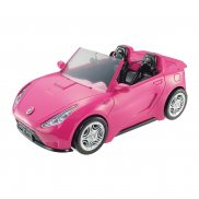 Barbie - Różowy kabriolet DVX59