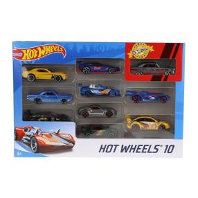 Hot Wheels - Małe samochodziki Dziesięciopak 10-pak 54886 21