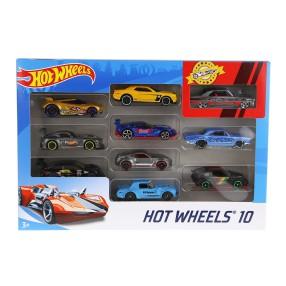 Hot Wheels - Małe samochodziki Dziesięciopak 10-pak 54886 27