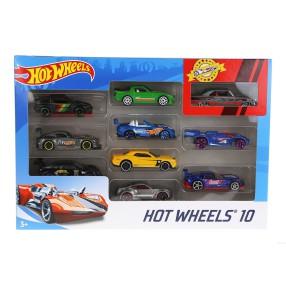 Hot Wheels - Małe samochodziki Dziesięciopak 10-pak 54886 28