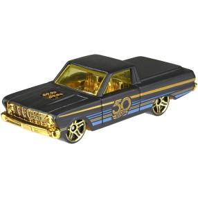 Hot Wheels - 50 rocznica Samochodzik złoto i czerń '65 Ford Ranchero FRN39