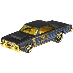 Hot Wheels - 50 rocznica Samochodzik złoto i czerń '68 Dodge Dart FRN37