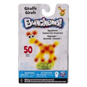 Bunchems kolorowe rzepy - Kumple Żyrafa 50 elem. 16812 20079070