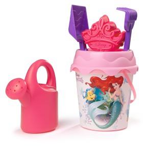 Smoby - Wiaderko z akcesoriami i konewką Disney Princess 862046