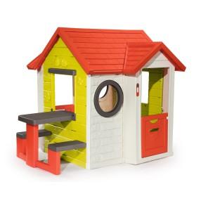 Smoby - Domek interaktywny MY HOUSE + Stolik 810401 Powłoka UV