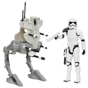 Hasbro Star Wars E7 - Pojazd Maszyna Krocząca AT Walker + Stormtrooper 30 cm B3919