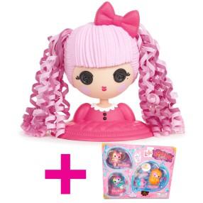 Lalaloopsy Girls - Głowa do stylizacji Klejnotka 532446