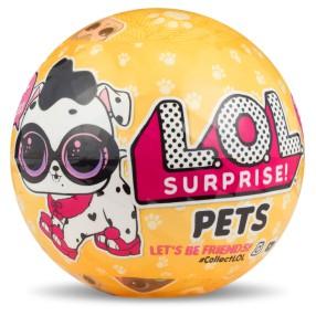 L.O.L. SURPRISE - Zwierzątko LOL w kuli niespodziance Seria 3.2 550747