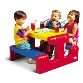 Little Tikes - Stół piknikowy Czerwono-niebieski 4795