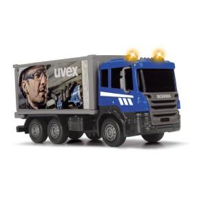 Dickie - Pojazdy miejskie Scania Ciężarówka Światło Dźwięk 3742008 C