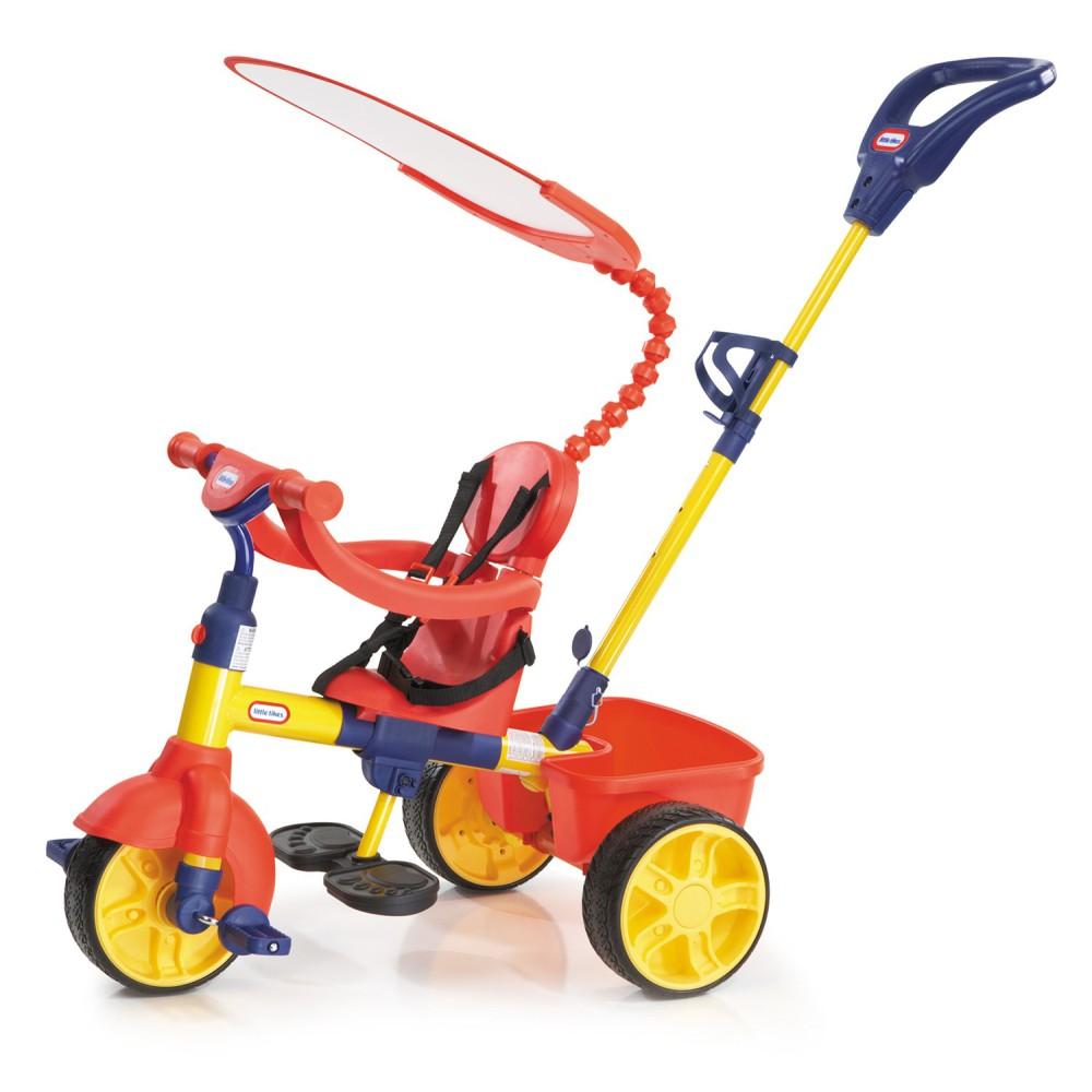 Little Tikes - Trójkołowy Rowerek 4w1 Czerwony GUMOWE KOŁA 627354