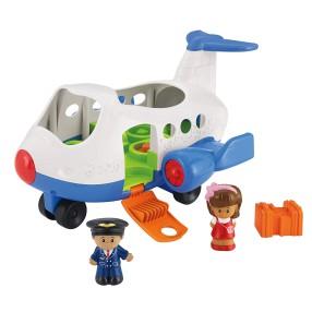 Fisher-Price Little People - Wesoły Samolot, Mia i pilot wer. polskojęzyczna CBL28