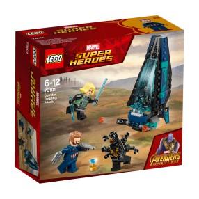 LEGO Marvel Super Heroes - Atak statku Outriderów 76101