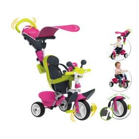 Smoby - Rowerek Baby Driver Comfort Różowy 741201