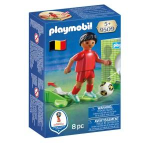 Playmobil - FIFA 2018 Piłkarz reprezentacji Belgii 9509
