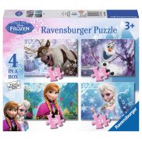 Ravensburger - Kraina Lodu Puzzle 4w1 073603