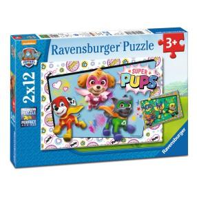Ravensburger - Puzzle Psi Patrol 2x12 076130