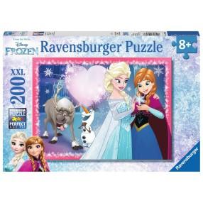 Ravensburger - Kraina Lodu Siostrzana Miłość Puzzle 200 elem. 128266