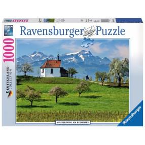Ravensburger - Puzzle Wasserburg Krajobraz 1000 elem. 197033