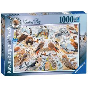 Ravensburger - Puzzle Ptaki drapieżne 1000 elem. 195596
