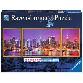 Ravensburger - Puzzle Nowy Jork Tryptyk 1000 elem. 197927