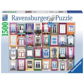 Ravensburger - Puzzle Okna w Porto 1500 elem. 162178