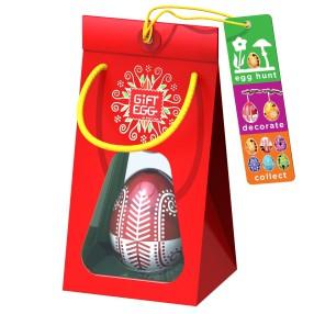 Smart Egg - Łamigłówka Jajko Edycja specjalna Czerwone 3389031 D