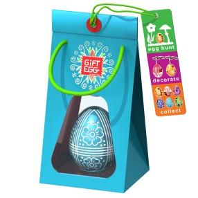 Smart Egg - Łamigłówka Jajko Edycja specjalna Turkusowe 3389031 E