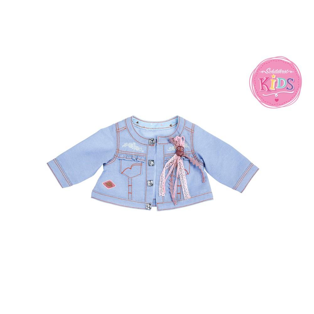 Schildkröt - Kurteczka jeansowa z Sową dla lalki 651400027