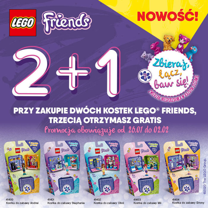 LEGO Friends 2+1