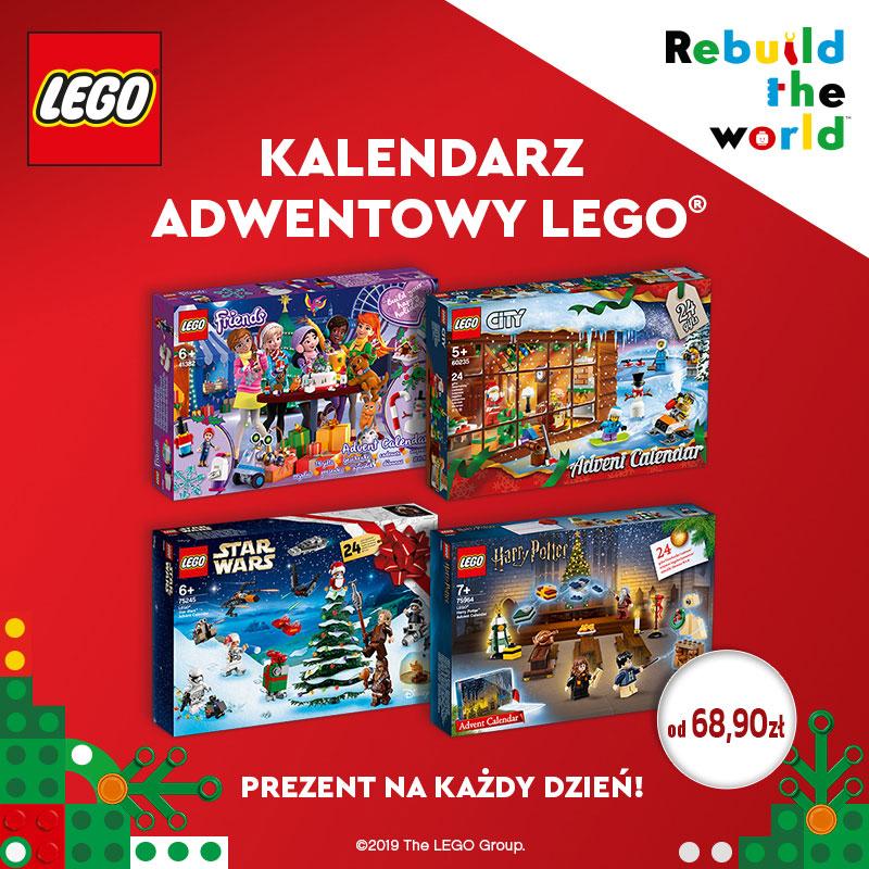 LEGO Kalendarze Adwentowe
