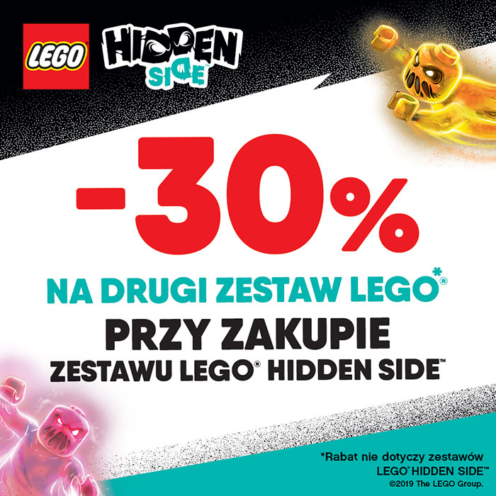 LEGO Hidden Side - 30% na drugi zestaw
