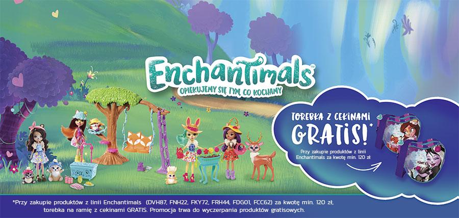 15115f1d0199a Fantastyczna akcja promocyjna dla miłośniczek Enchantimals. Przy zakupie  produktów z tej serii za kwotę min. 120 zł